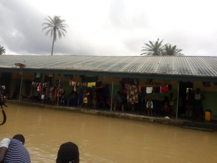 Flood in the Niger Delta...